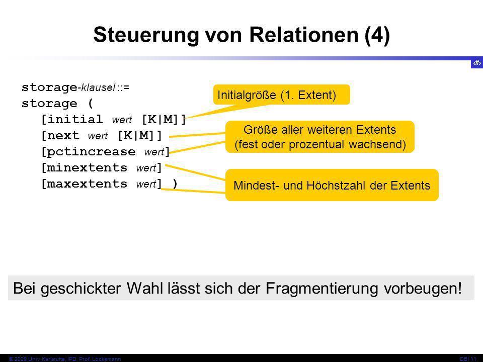 Steuerung von Relationen (4)