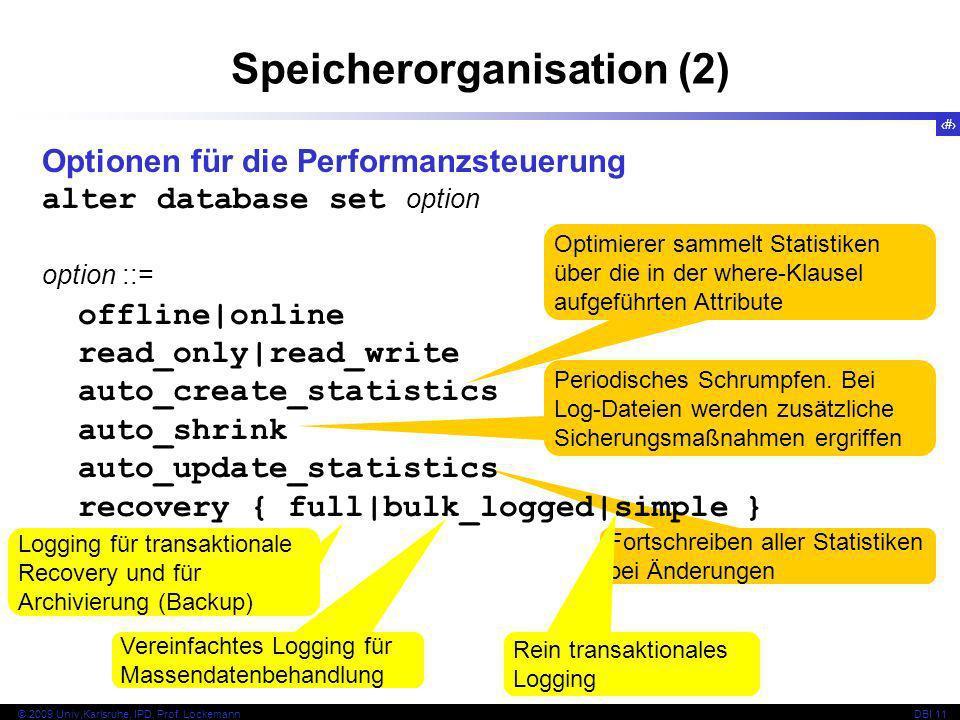 Speicherorganisation (2)