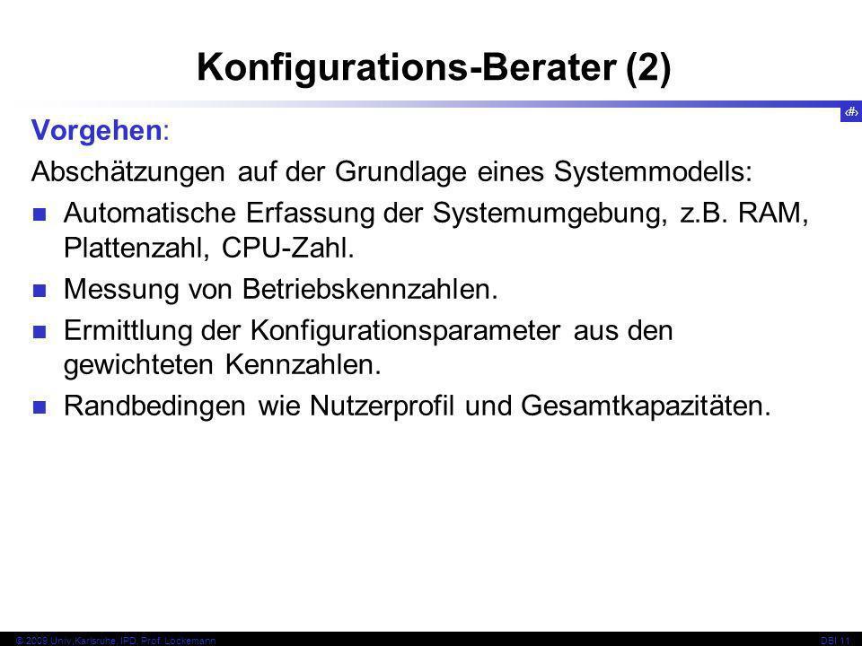 Konfigurations-Berater (2)
