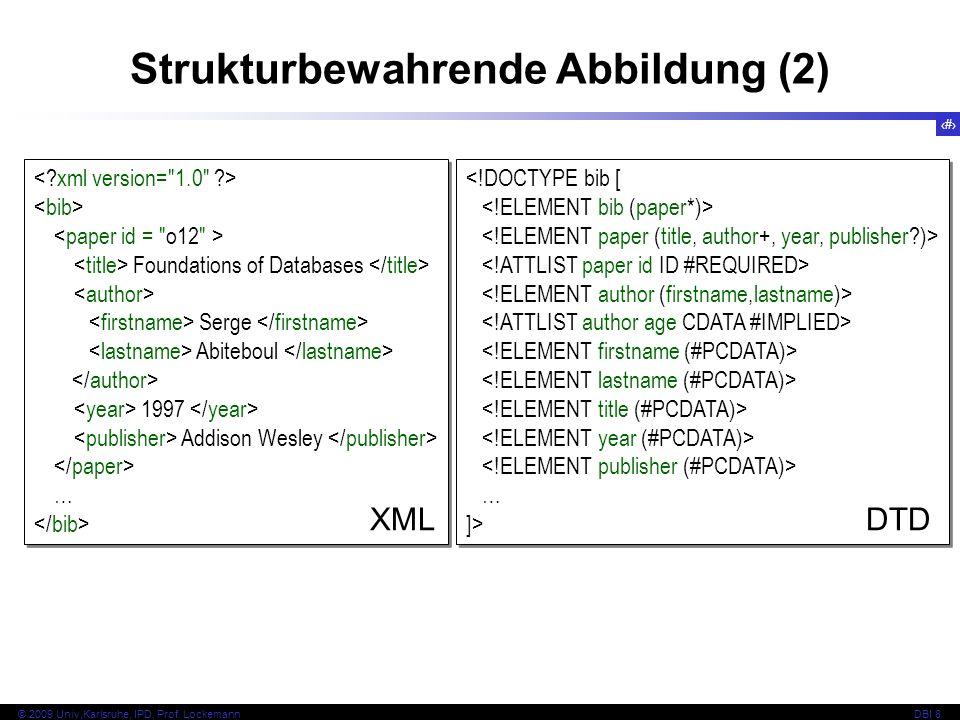 Strukturbewahrende Abbildung (2)