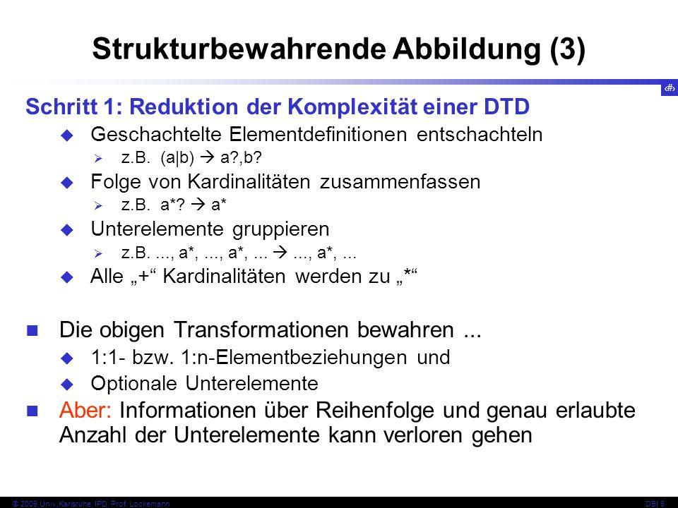 Strukturbewahrende Abbildung (3)