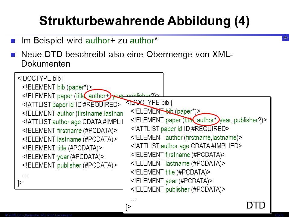 Strukturbewahrende Abbildung (4)