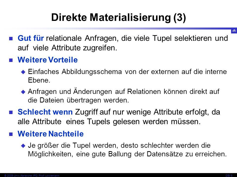 Direkte Materialisierung (3)