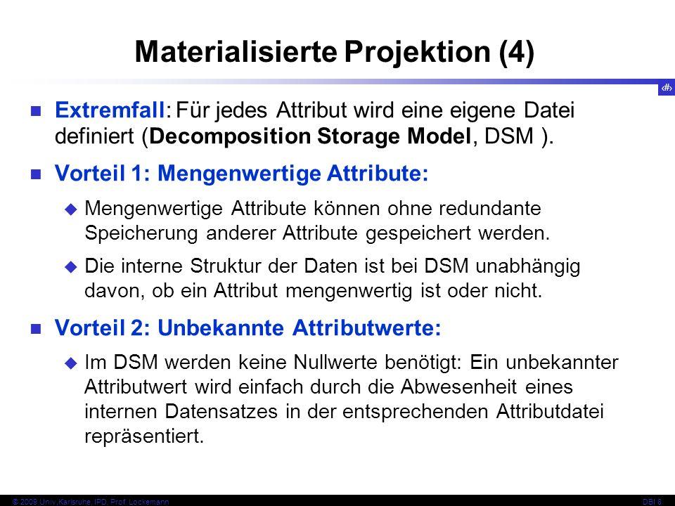 Materialisierte Projektion (4)