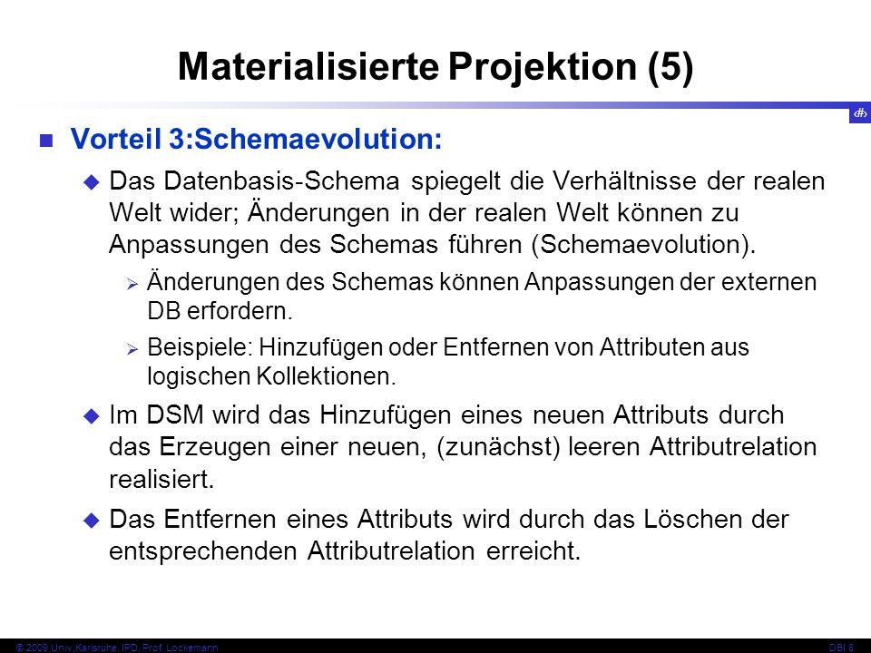 Materialisierte Projektion (5)