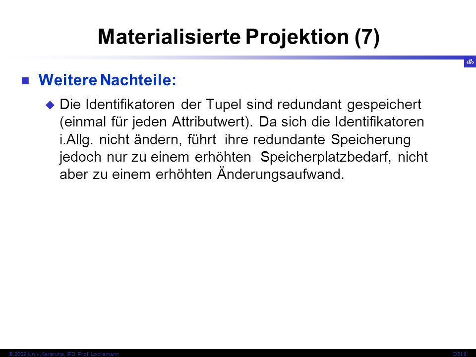 Materialisierte Projektion (7)