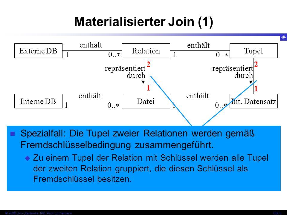 Materialisierter Join (1)