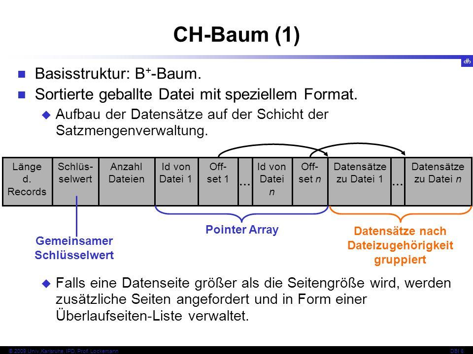 Datensätze nach Dateizugehörigkeit gruppiert Gemeinsamer Schlüsselwert
