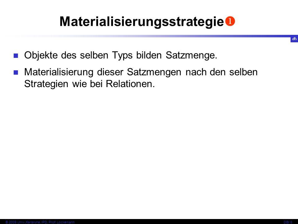 Materialisierungsstrategie