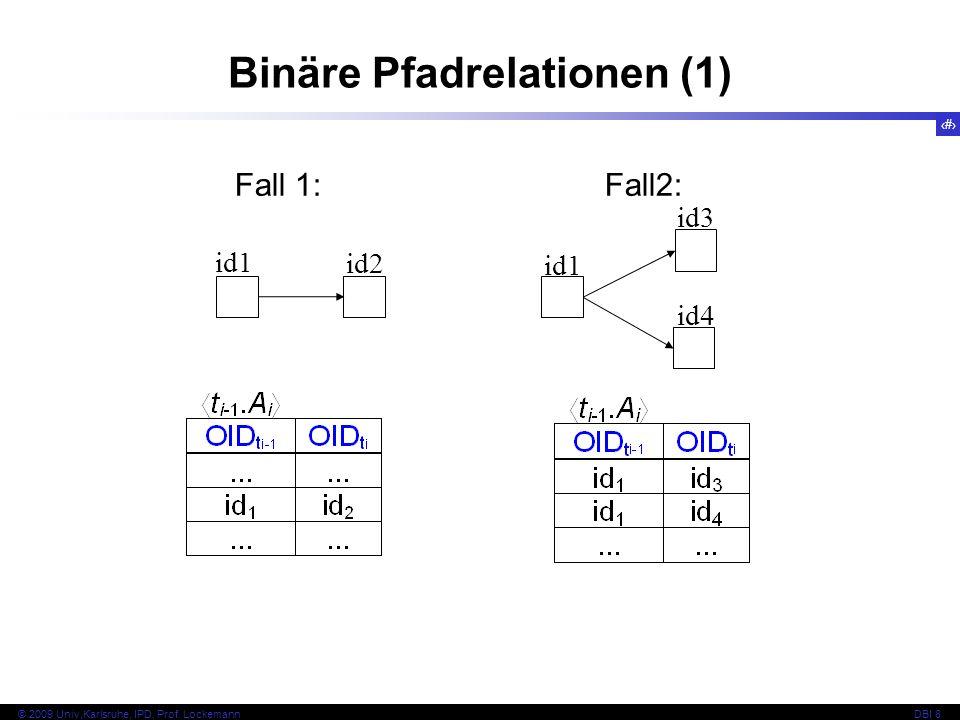 Binäre Pfadrelationen (1)