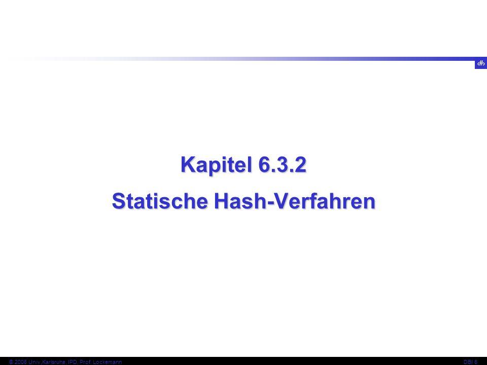 Statische Hash-Verfahren