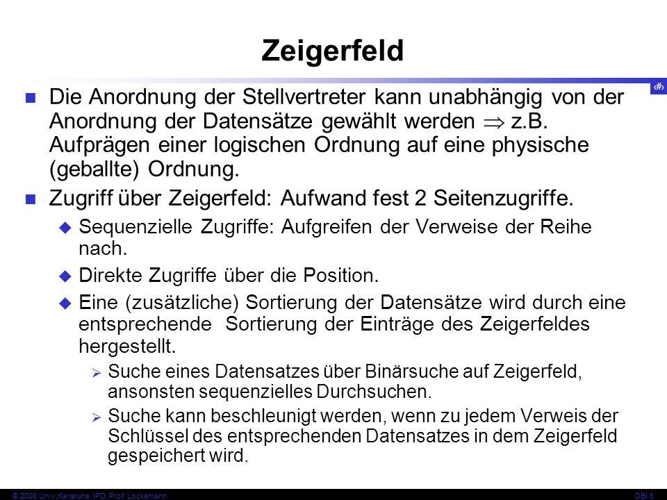 Zeigerfeld