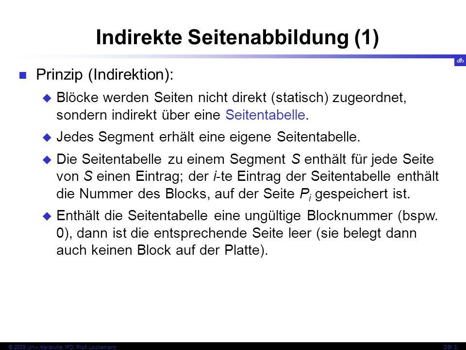 Indirekte Seitenabbildung (1)