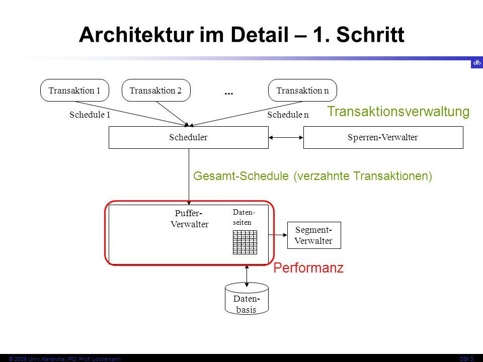 Architektur im Detail – 1. Schritt