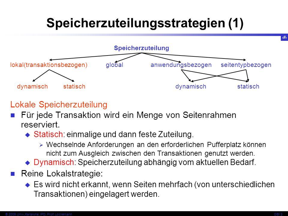 Speicherzuteilungsstrategien (1)