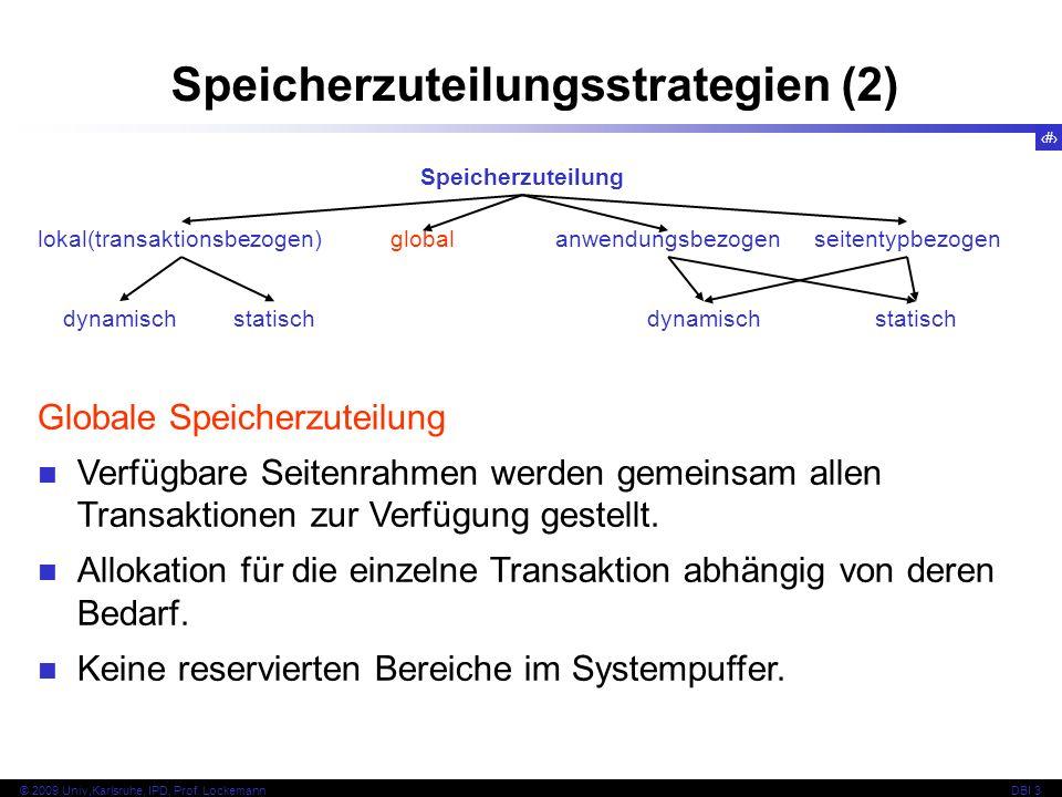Speicherzuteilungsstrategien (2)
