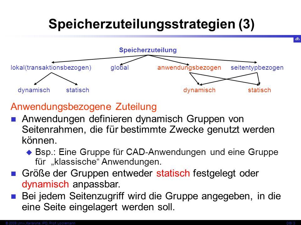 Speicherzuteilungsstrategien (3)