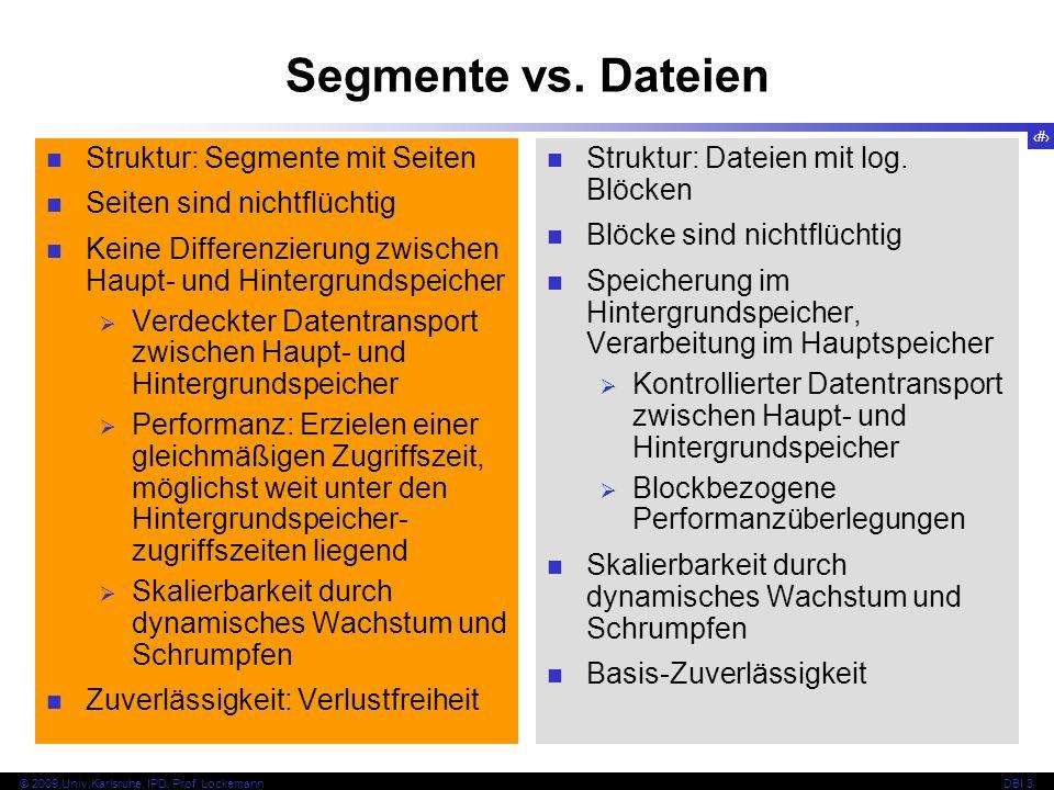 Segmente vs. Dateien Struktur: Segmente mit Seiten