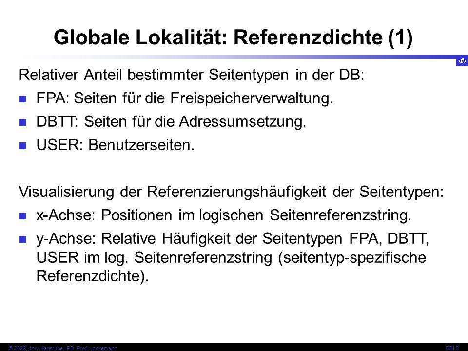 Globale Lokalität: Referenzdichte (1)