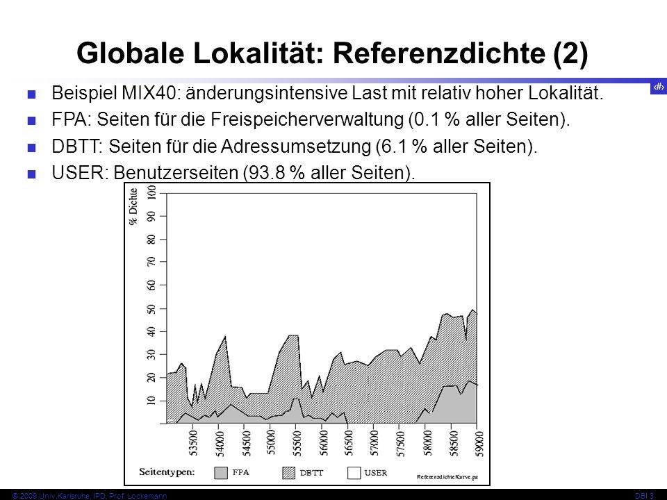 Globale Lokalität: Referenzdichte (2)