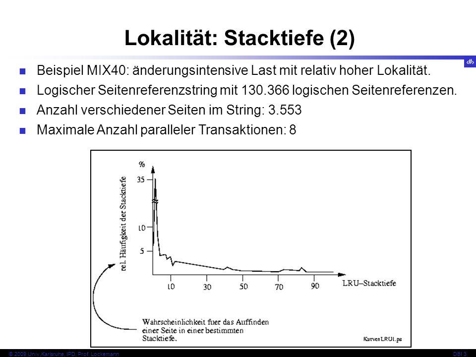 Lokalität: Stacktiefe (2)