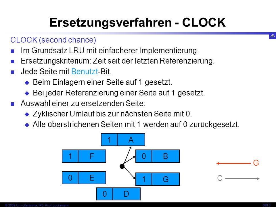 Ersetzungsverfahren - CLOCK