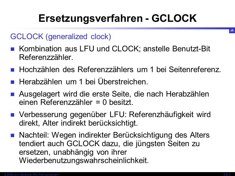 Ersetzungsverfahren - GCLOCK