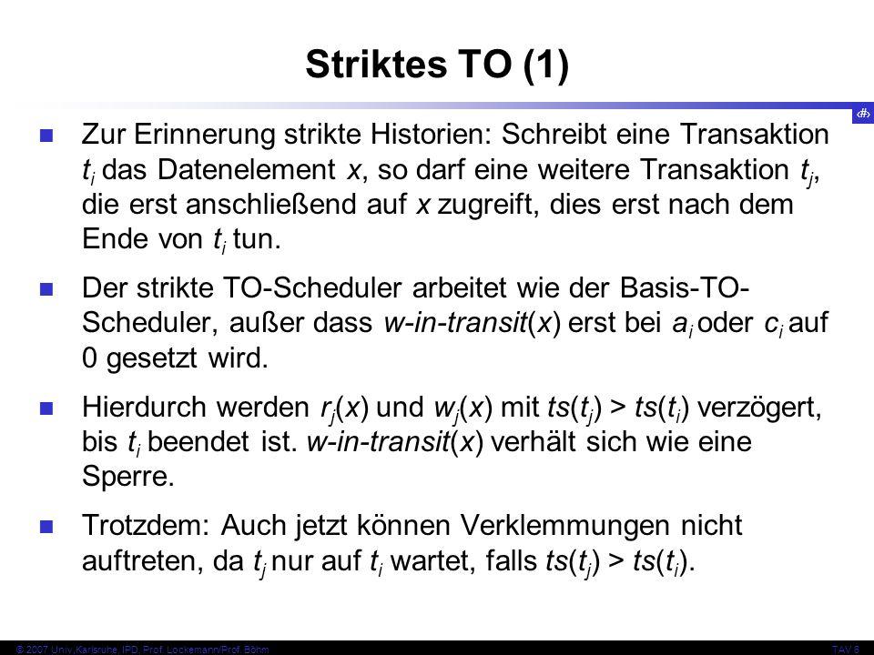 Striktes TO (1)