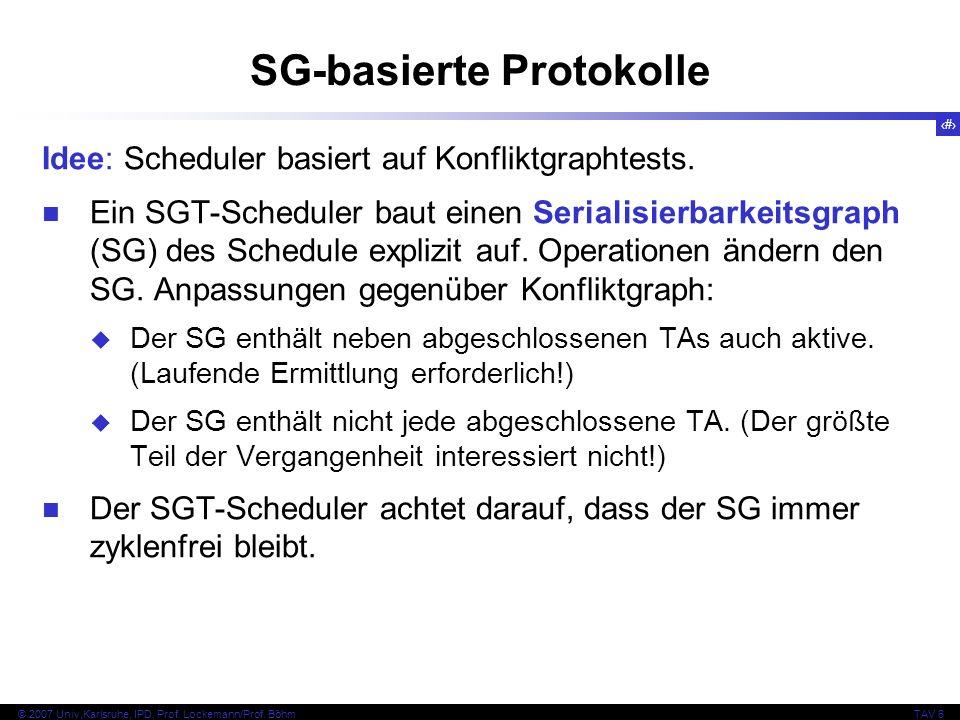 SG-basierte Protokolle