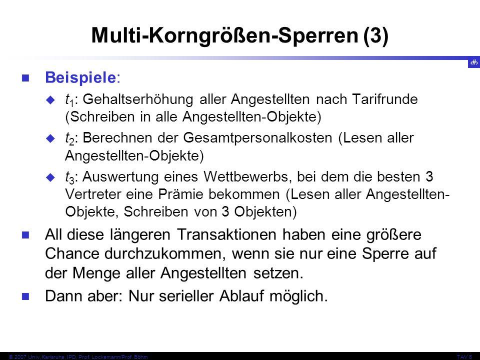 Multi-Korngrößen-Sperren (3)