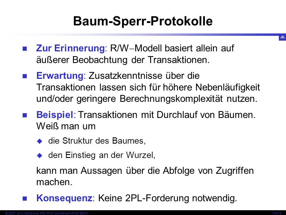 Baum-Sperr-Protokolle