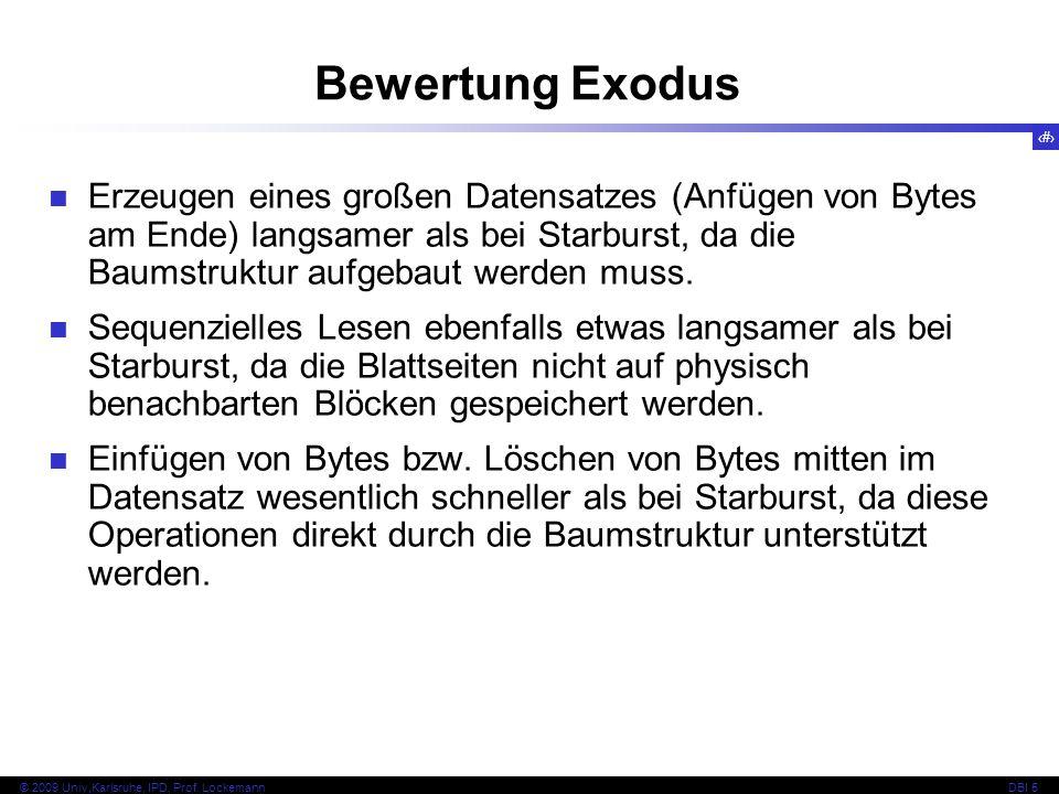 Bewertung Exodus