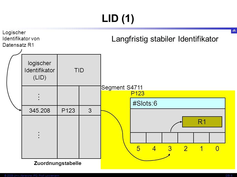 logischer Identifikator (LID)