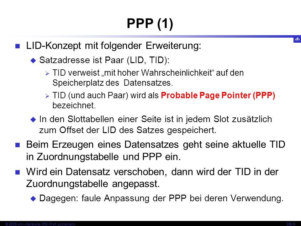 PPP (1) LID-Konzept mit folgender Erweiterung: