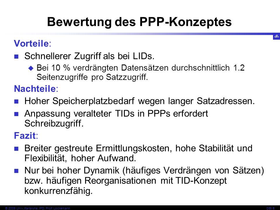 Bewertung des PPP-Konzeptes