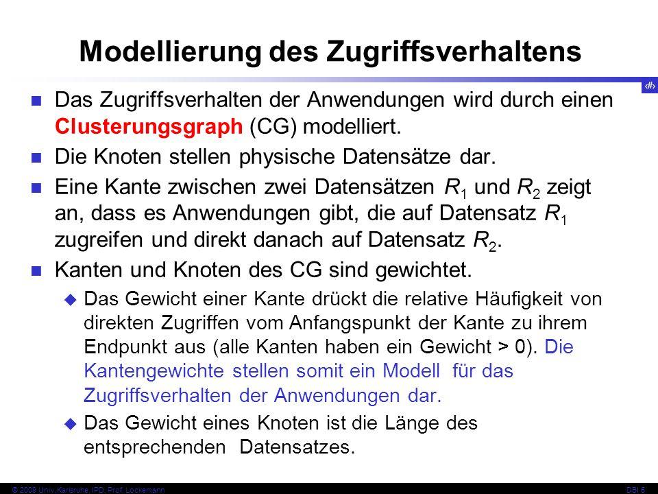 Modellierung des Zugriffsverhaltens