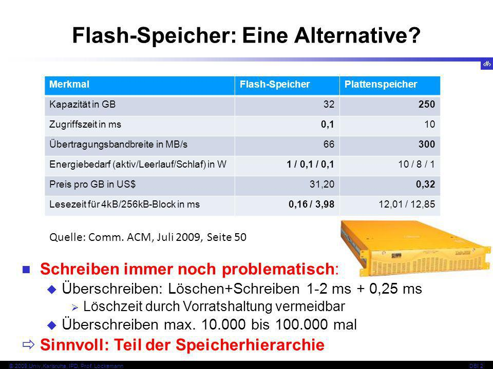 Flash-Speicher: Eine Alternative