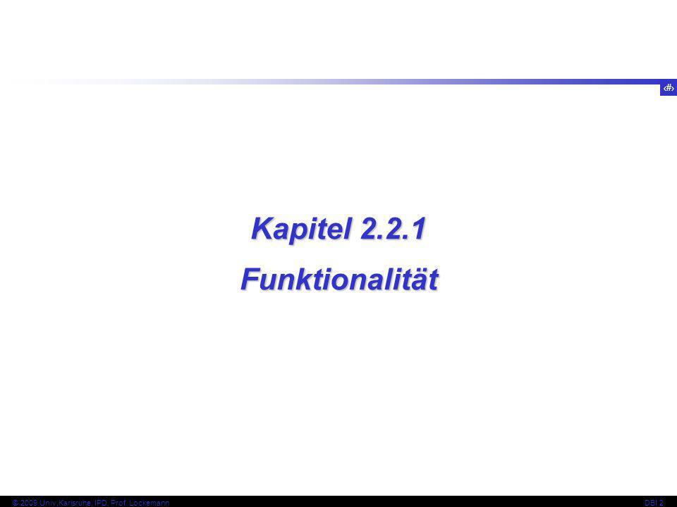 Kapitel 2.2.1 Funktionalität