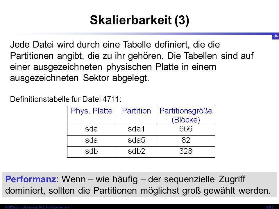 Skalierbarkeit (3)