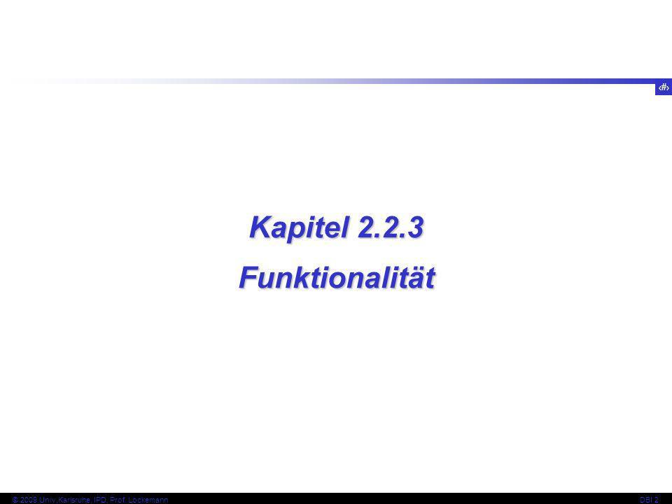 Kapitel 2.2.3 Funktionalität