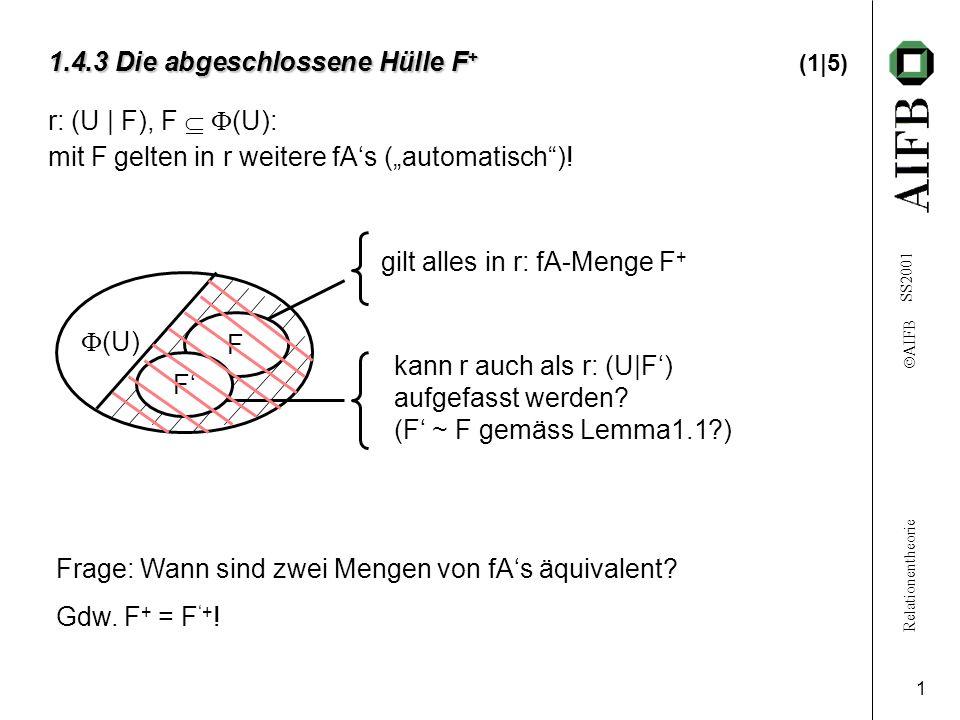 1.4.3 Die abgeschlossene Hülle F+ (1|5)