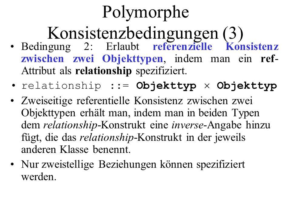 Polymorphe Konsistenzbedingungen (3)