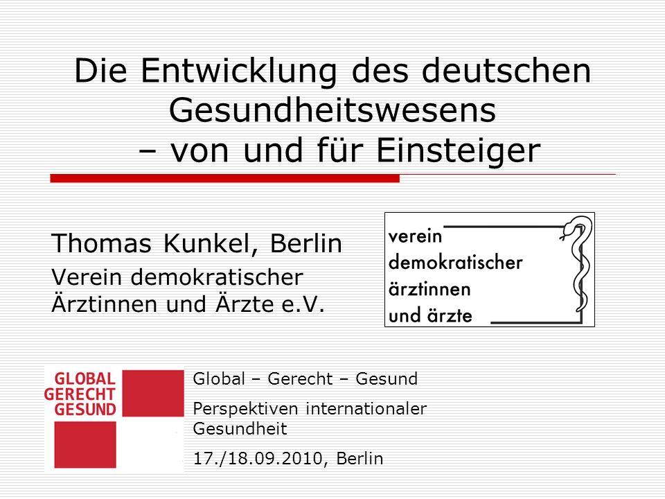 Thomas Kunkel, Berlin Verein demokratischer Ärztinnen und Ärzte e.V.