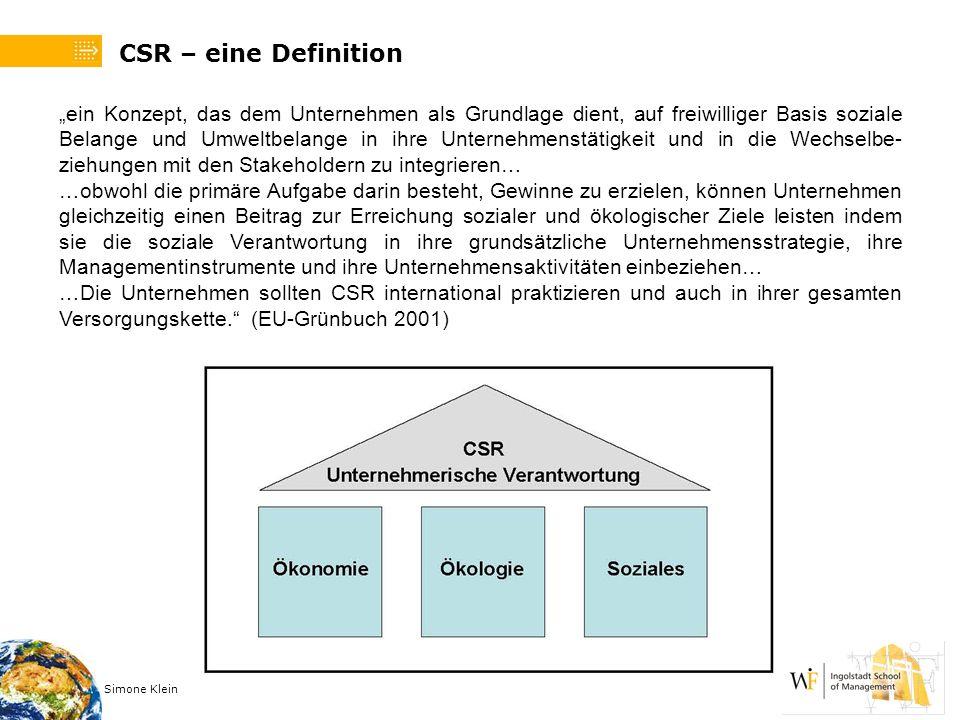 CSR – eine Definition