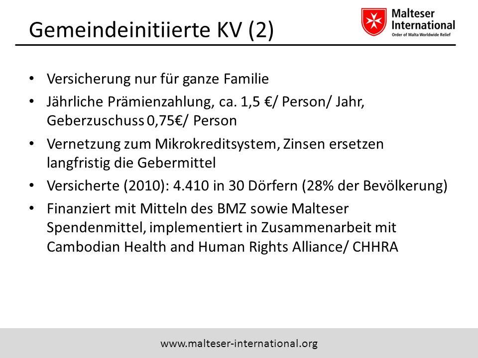 Gemeindeinitiierte KV (2)