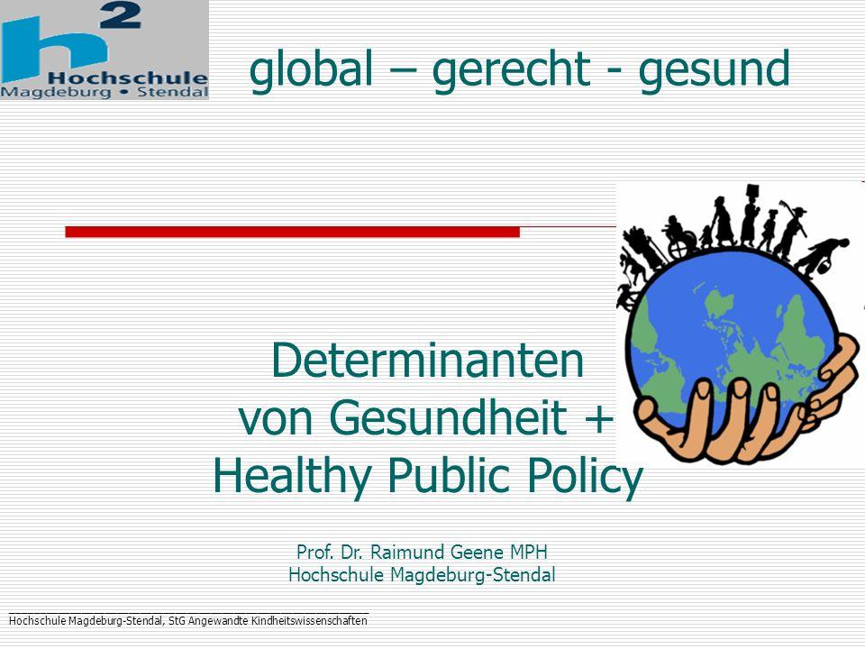 global – gerecht - gesund