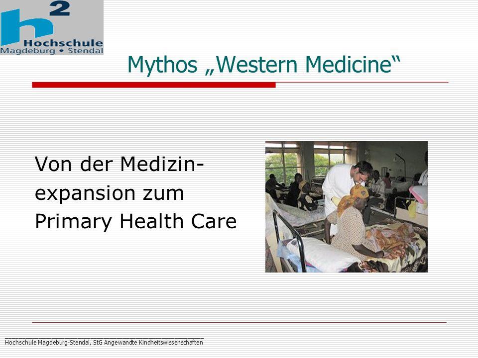 "Mythos ""Western Medicine"
