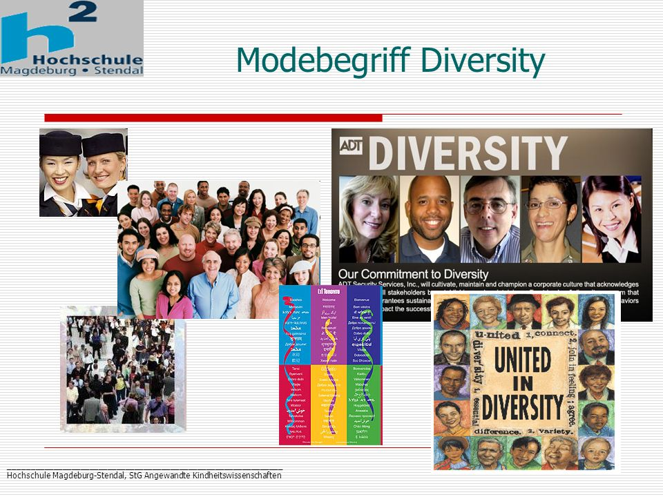 Modebegriff Diversity