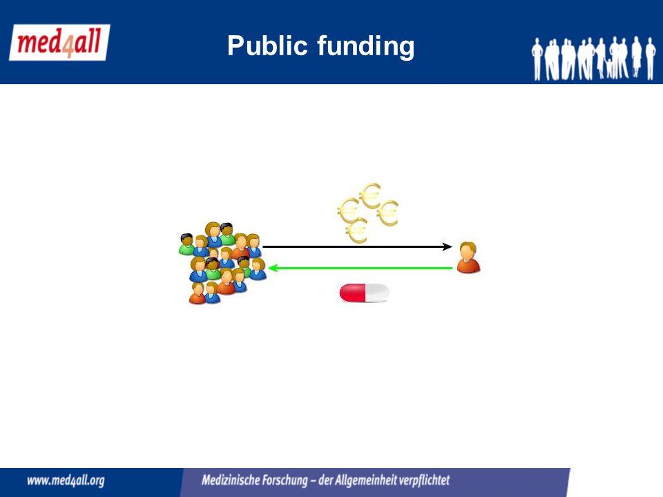 Public funding