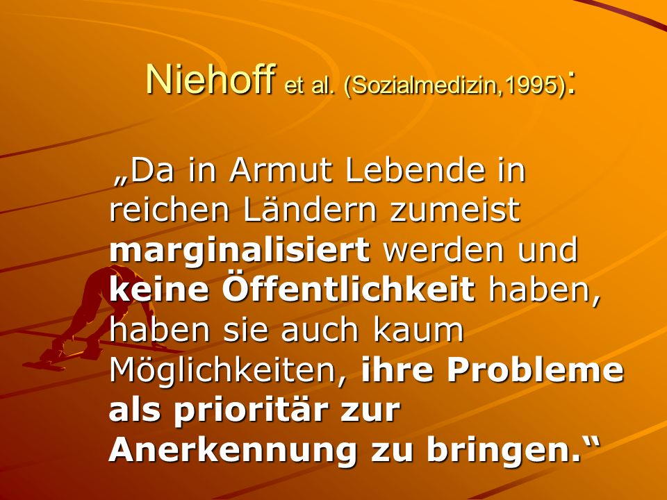 Niehoff et al. (Sozialmedizin,1995):